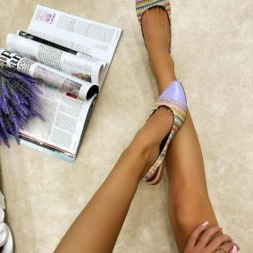 JUTA FLATS - PURPLE