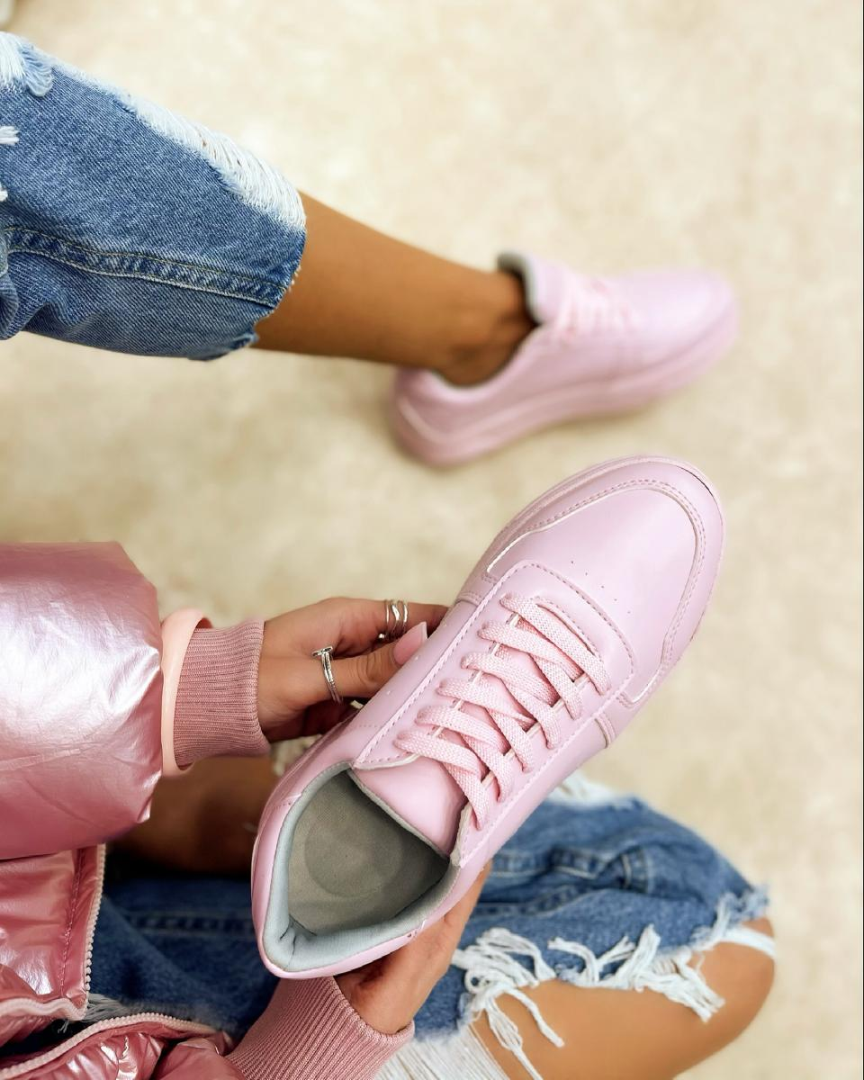 SHALLOW SNEAKERS - ROSE