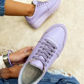 SHALLOW SNEAKERS - PURPLE