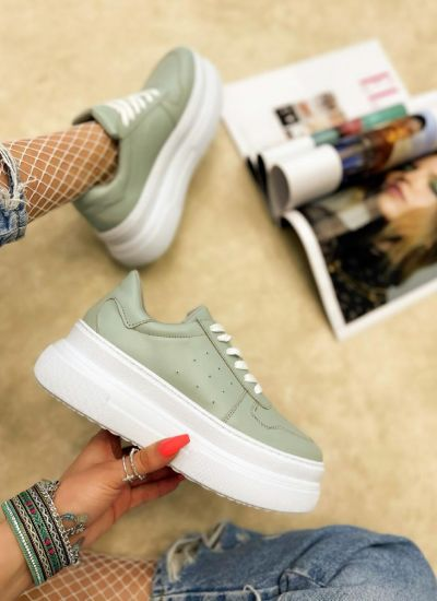 HIGH SOLE SNEAKERS - MINT