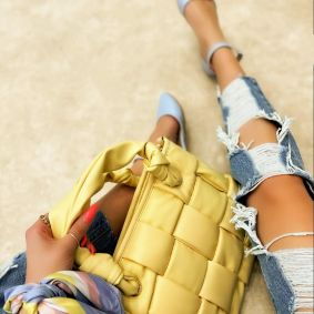 Women's bag LINA - YELLOW