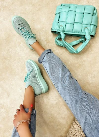 STRETCH SNEAKERS - MINT