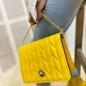 Women's bag ULKA - YELLOW