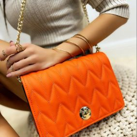 Women's bag ULKA - ORANGE