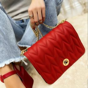 Women's bag ULKA - RED