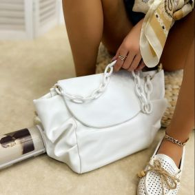 Women's bag MAHI - WHITE
