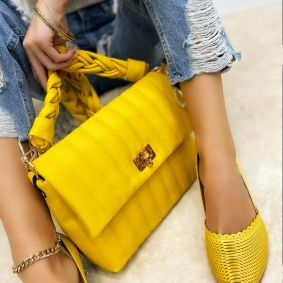Women's bag ADAIRA - YELLOW