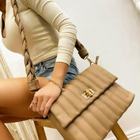 Women's bag ADAIRA - BEIGE