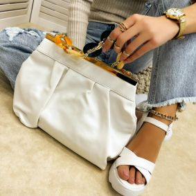 Women's bag ADITHA - WHITE