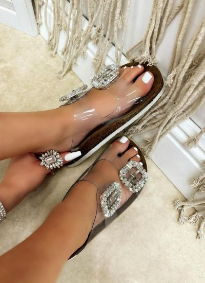 Women Slippers HALA TRANSPARENT