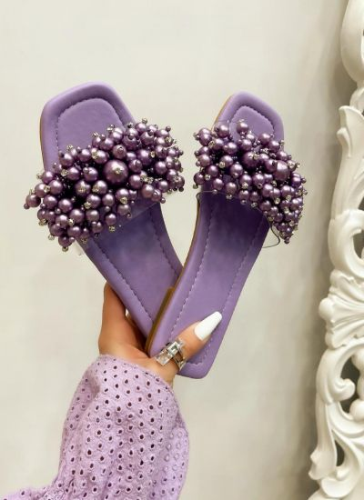 Women Slippers MINA VIOLET