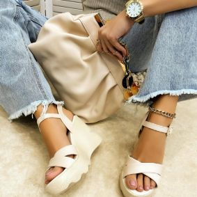 Women sandals JULEN BEIGE