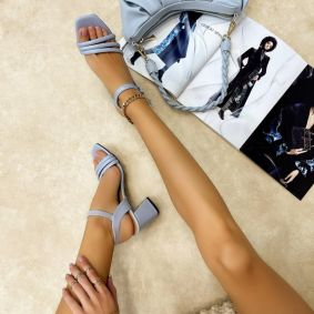 Women sandals REEL BLUE