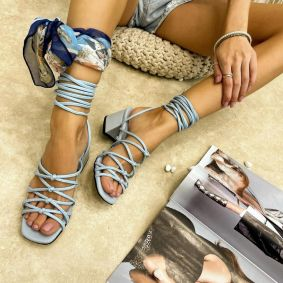 Women sandals ADEOLA BLUE