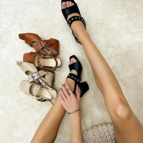 Women sandals KIARA BLACK