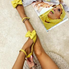 Ballerina flats RONNIE YELLOW
