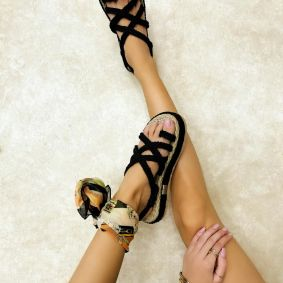 Women sandals SHANTA BLACK