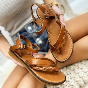 Women sandals GREETA CAMEL