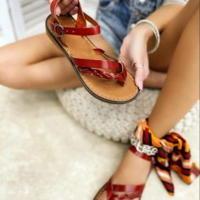 Women sandals GREETA RED