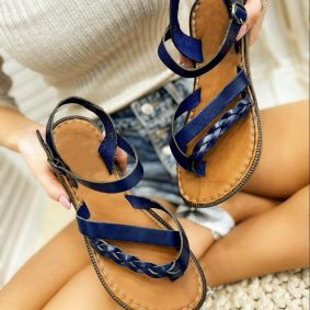 Women sandals GREETA NAVY