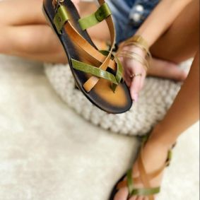 Women sandals ROSIE CAMEL