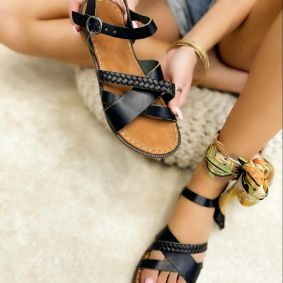 Women sandals JALAJA BLACK