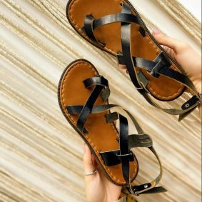 Women sandals KACI BLACK