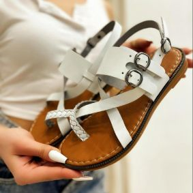 Women sandals FRAYJA WHITE