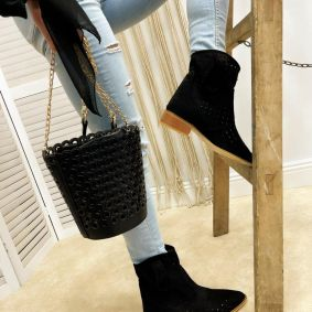 Summer boots MASHAL BLACK