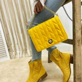 Summer boots MASHAL YELLOW