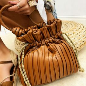 Women's bag BELLE - CAMEL