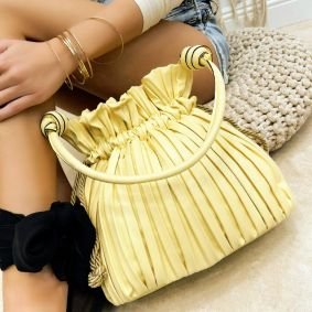 Women's bag BELLE - YELLOW