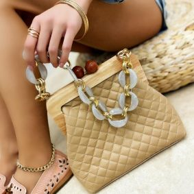 Women's bag FREYAH  - BEIGE