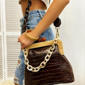 Women's bag RUMA - BROWN