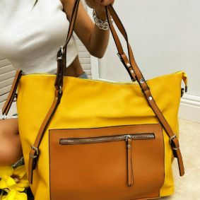 Women's bag ROWENA - OCHER