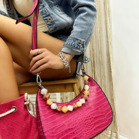 Women's bag ROSHNI - PINK