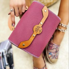 Women's bag REVATI - PINK