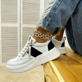 Women sneakers ELYSSA - WHITE