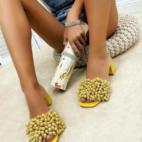 Women Slippers MIRREN - YELLOW
