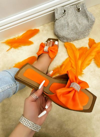 Women Slippers TULIKA - ORANGE