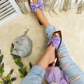 Women Slippers TULIKA - VIOLET