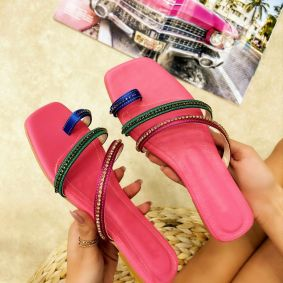 Women Slippers NAMI - PINK