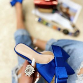 Women Slippers ZILAH - BLUE