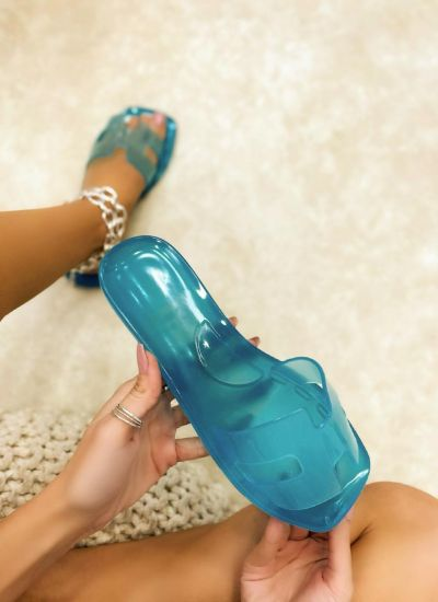 Women Slippers SUNDAE - BLUE