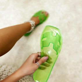 Women Slippers SUNDAE - GREEN