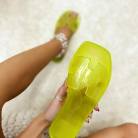 Women Slippers SUNDAE - YELLOW