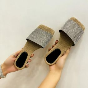 Women Slippers MULLAI - BEIGE