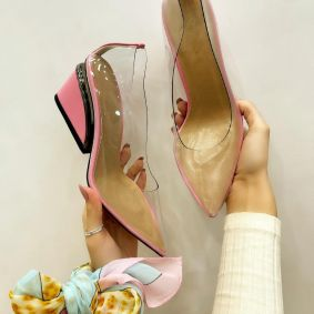 High-heels JEMIMA - PINK