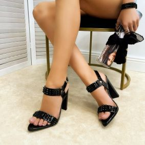 Women sandals ALIZAY - BLACK