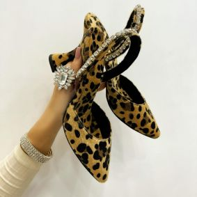 Women sandals AROHA - LEOPARD